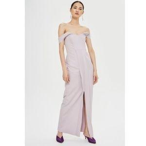 Topshop Lilac Crepe Formal Dress *PROM!*